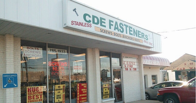 CDE Fasteners, INC Storefront
