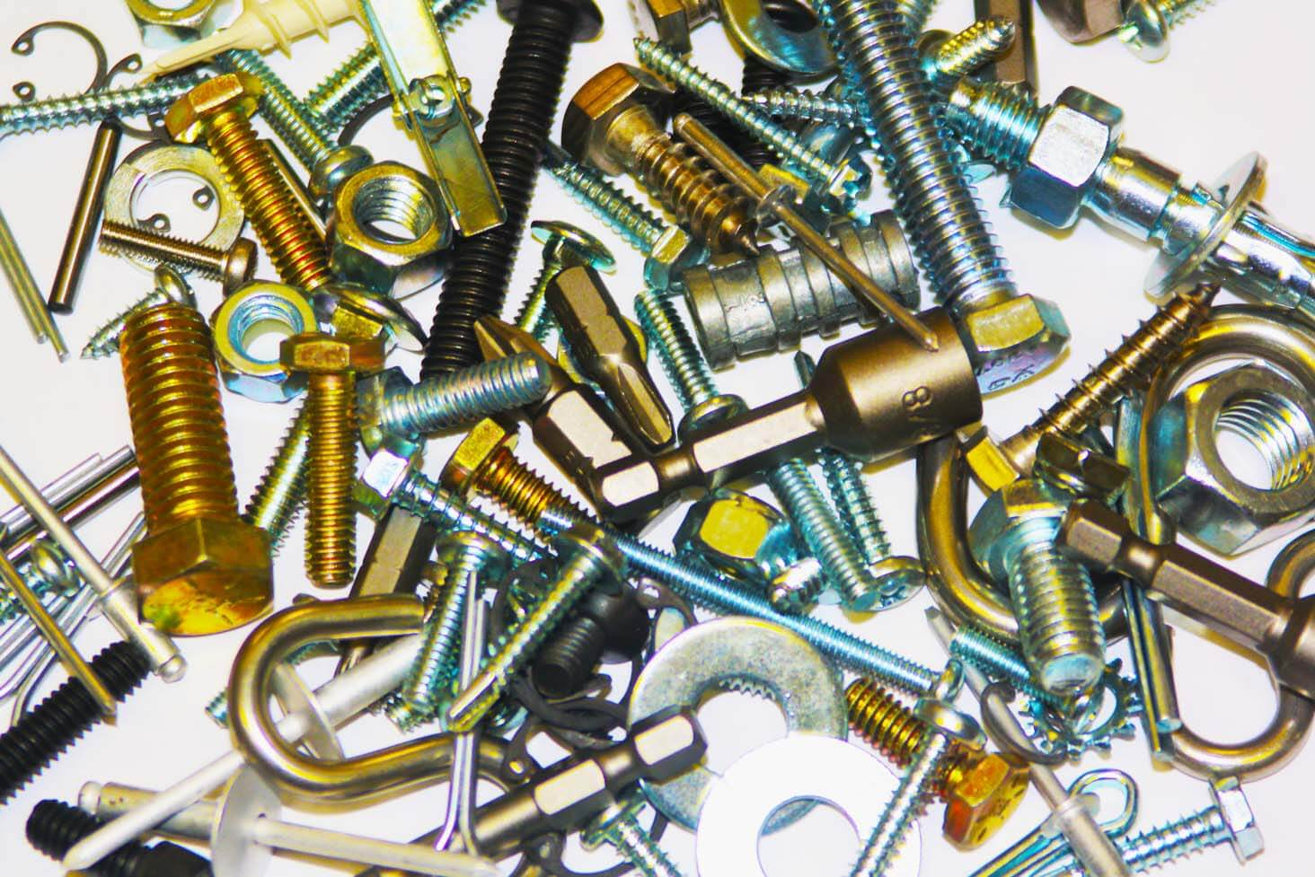 Various Fasteners In Stock