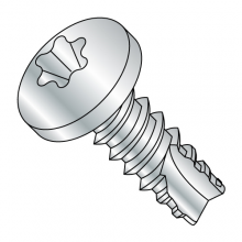 Pan - Six-Lobe - Type 25 - Thread Cutting Screws - Zinc