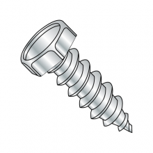 Hex - Unslotted - Type AB - Self Tapping Screws - Zinc