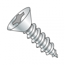 Flat - Phillips - Type AB - Self Tapping Screws - Zinc