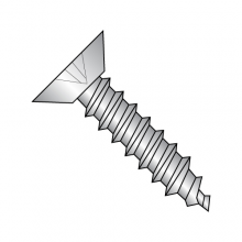 Flat - Phillips - Undercut - Type AB - Self Tapping Screws -18-8 Stainless