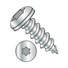 Pan - Six-Lobe - Type AB - Self Tapping Screws - Zinc