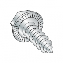 "Serrated Hex Washer - Unslotted - Type AB - Self Tapping Screws - 7/16"" A.F."