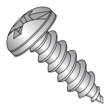 Pan - Combination Drive (Phil / Slot) - Type A - Self Tapping Screws - 18-8 Stainless