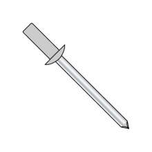 Standard Blind - Closed End - Aluminum Body-Steel Mandrel - Dome Head