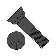 Grade 8 - Plow Bolts - #3 Head - Plain Finish
