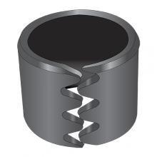 Tension Control Bushing - Type 3 - 6150 Spring Steel - Plain