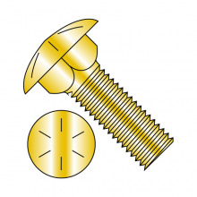 Carriage Bolts (Shaker Screen) - Grade 8 - Zinc Yellow