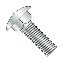 Carriage Bolts - Low Carbon - Zinc