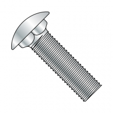 Short Neck - Carriage Bolts - Round - Low Carbon