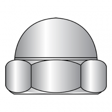 DIN 1587 - Domed (Acorn) Hex Cap Nuts - A2 Stainless