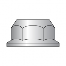 Din 6923 - Hex Flange Nut - Non-Serrated -18-8 Stainless Steel