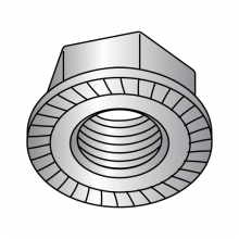DIN 6923 - Serrated Hex Flange Nuts - A2 Stainless Steel