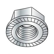 DIN 6923 - Serrated Hex Flange Nuts - Class 8 - Zinc