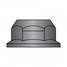 DIN 6927 - Top Lock Flange Nut - Class 10 - Black Phosphate & Oil Finish