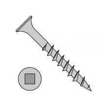 Square Recess - Bugle Head - Deck Screws - Coarse Thread - Sharp Point - Dacrotized