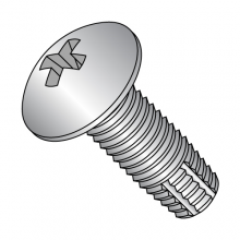 Truss - Phillips - Type F - Thread Cutting Screws - 18-8 Stainless