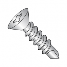 Flat - Phillips - Self Drilling Screws - 18-8 Stainless
