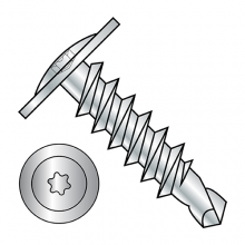 Modified Truss - Six Lobe - Self Drilling Screws - Zinc