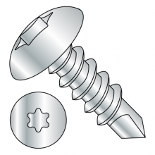 Truss - Six-Lobe - Self Drilling Screws - Zinc