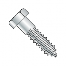 Hex - Lag Screw - Steel - Zinc