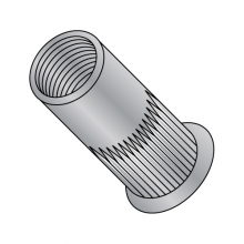 Blind Threaded Inserts - Small Head Ribbed - Aluminum