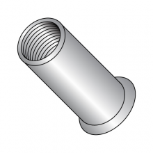 Blind Threaded Inserts - Small Head - Round Body - Aluminum