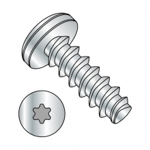Pan - Six-Lobe - Generic Alternatives to Plastite® - 48-2 Thread Rolling Screws* - Zinc