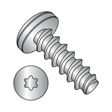 Pan Six-Lobe - Generic Alternatives to Plastite® - 48-2 Thread Rolling Screws* - 18-8 Stainless