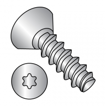 Flat Undercut Six-Lobe Generic Alternatives to Plastite® 48-2 Thread Rolling Screws* - 18-8 Stainless