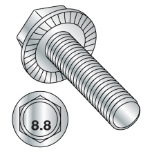 Din 6921 - Serrated - Hex Flange Screw - Zinc
