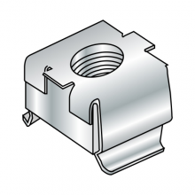 Metric - Steel Plated Zinc - Cage Nut