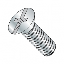 Flat Combination - Machine Screws - Zinc
