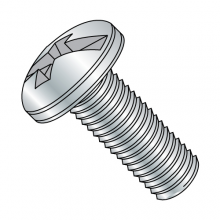Pan Combination - Machine Screws - Zinc
