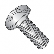 Pan - Combination - Machine Screw - 18-8 Stainless