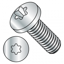 ISO 7045 - Six-Lobe - Pan - Machine Screws - Zinc - RoHS