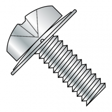 ISO 7045 - Phillips - Pan w/ Conical Square Washer - SEMS - Machine Screws - Zinc