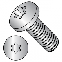 ISO 7045 - Six-Lobe - Pan - Machine Screws 18-8 Stainless