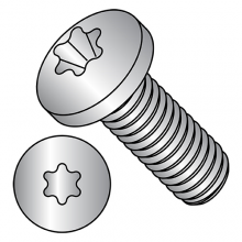 ISO 14583 - Pan - Six Lobe - Machine Screws - A4 Stainless