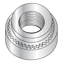Metric Self Clinching Nut - Steel - Zinc Plated