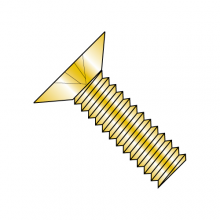 Flat 100° - Phillips - Machine Screw - MS24693 - Coarse - Cadmium Yellow