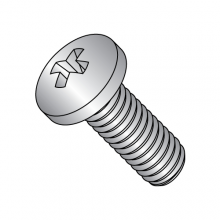 Pan - Phillips - Machine Screws - 300 Series Stainless - Miltary