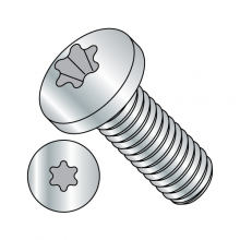 Pan - Six-Lobe - Machine Screw - Zinc