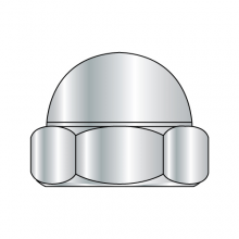 Acorn Hex Cap Nut - Nickel Plated