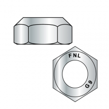 Top Lock Hex Nuts - Grade 9 - Coarse Thread - EcoGaurd - Gray / Silver