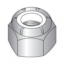 Nylon Insert Stop Nuts - 18-8 Stainless