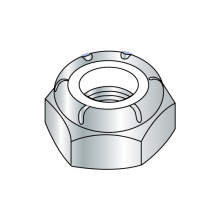 Nylon Insert Stop Nuts - Thin - Zinc