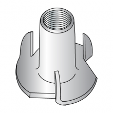 Tee Nuts - 3 Prong - 18-8 Stainless Steel