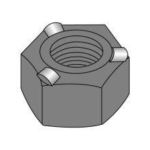 Hex Weld Nuts - 3 Projections - Plain Finish